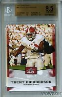 2012 Leaf Draft #49 Trent Richardson ROOKIE BGS 9.5 GEM MINT Browns