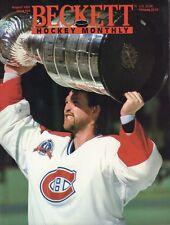 Beckett Hockey Monthly Magazine August 1993 Patrick Roy 091317nonjhe