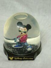 Schneekugel Walt Disney Collection Micky Maus Gitarre Schnee gross