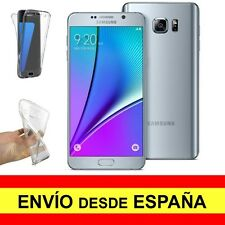 Funda Doble Transparente para SAMSUNG GALAXY NOTE 5 Protección Integral a2269