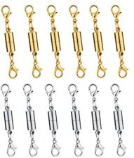 Dsmile Pack Of 12pcs Gold Color And Silver Color Magnetic Lobster Clasp For