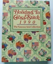 HOLIDAYS IN CROSS STITCH 1990 HARDCOVER BOOK