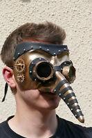 maske.augenmaske,steampunk,halbmaske,goldfarben,fantasy,sci-fi,retro,pestarzt