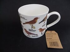 "Gift Republic Bone China Mug, ""Garden Birds"" 3.5"" tall 3.75"" diameter."