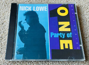 Nick Lowe - Party Of One (CD 1990 Reprise) CD 7599-26132-2