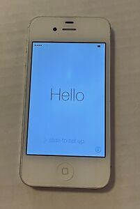 Apple iPhone 4s A1387 8GB Verizon White Smartphone/GSM & CDMA
