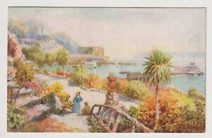 Devon postcard - Torquay, Princess Terrace - By H B Wimbush - P/U 1906 (A3633)