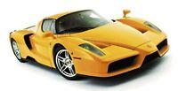 Maisto - 01139 - Ferrari Enzo: Assembly Line Model Kit Scale 1:24 - Yellow