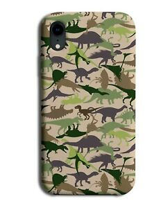 Army Dinosaurs Phone Case Cover Jurassic Silhouette Silhouettes Dinosaur F224
