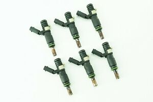 Mercedes E280 E300 E350 E550 Fuel Gas Injector Injectors Set of 6 2720780249