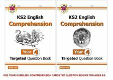 KS2 YEAR 4 ENGLISH COMPREHENSION TARGETED QUESTION BOOK 2 BOOK BUNDLE AGES 8-9