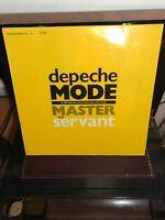 Depeche Mode Master And Servant 12 inch mix NM Mute L12BONG6 no1784 +Loricraft
