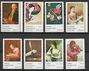 Mr B's - US 1974 Universal Postal Union Set - MNH OG XF/SUP - Free Shipping