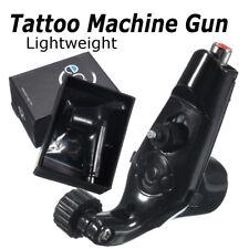 Pro EGO Magpie Shape Rotary Motor Tattoo Machine Gun For Tattoo Ink Black