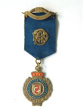 "ca.1900 RAOB AVON LODGE RIBBON MEDAL ""Justice Truth Philanthropy"" Buffs Club UK"