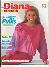 Diana 517 Italienische Strickmode 1985 Handarbeiten Stricken Pullis Pullover