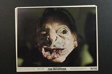 LOT: FOUR 1974 THE MUTATIONS ORIGINAL HORROR MOVIE PROMO STILL PHOTOGRAPHS~