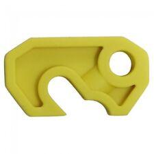 Lock Dog - Small Circuit Breaker Lock Off - Yellow