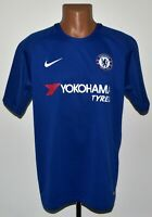 CHELSEA 2017/2018 HOME FOOTBALL SHIRT JERSEY NIKE SIZE L ADULT