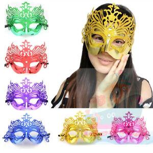 Masquerade Venetian Costume Dress Party Eye Party Half Face Crown Princess Mask