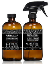 Professional Leather cleaner and conditioner 2 x 500ml with leather aroma
