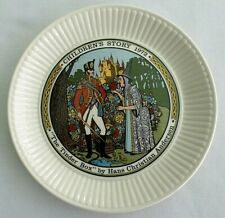 "Vintage, 1972 Wedgwood Plate, Children's Story, ""The Tinder Box"" England"