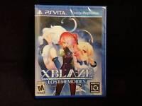 XBlaze Lost: Memories (Sony PlayStation Vita) In Stock !!