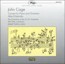 Cage: Concert For Piano and Orchestra / Atlas Eclipticalis