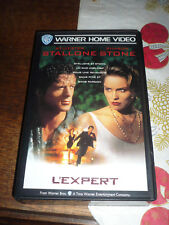 L'EXPERT Stallone Stone VHS FR French PAL RARE unsealed great no DVD