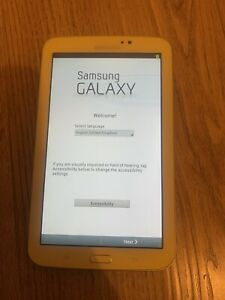 Samsung Galaxy Tab 3 Kids Tablet Yellow Model T2105