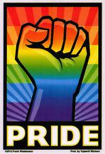 Pride Fist - LGBT Window Art Sticker / Decal