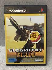 JEU PS2 GUNGRIFFON BLAZE AVEC NOTICE PLAYSTATION