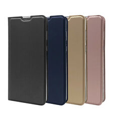 For Sharp Aquos Zero2 Leather Flip Wallet Phone Case Protector Cover New