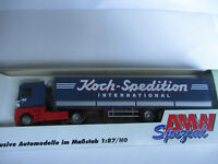 AMW H0 Renault Pritschensattezug, Koch-Spedition, unbespielt im Karton !!!