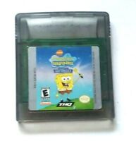 Gameboy Color Game Plays on GBC GBA SP ~ SPONGEBOB SQUAREPANTS LOST SPATULA