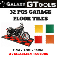Motorcycle Display Floor Mat Stand with DIY interlocking Floor Tiles All Colours