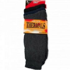 Men Thermal Socks Heated Winter Heavy Duty 3 Pairs Assorted Colors.