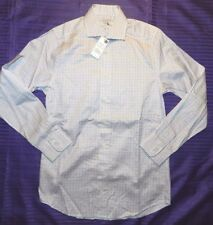 MENS check DRESS SHIRT = CHARLES TYRWHITT slim fit = SIZE 14.5'' 33cm NEW = WH94