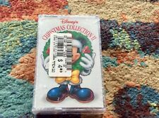 DISNEY CHRISTMAS COLLECTION II Cassette New/Sealed 1997 MICKEY MOUSE