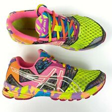 Asics Gel-Noosa Tri 8 Womens Athletic Running Shoes Size 6.5 Multi Color T356N