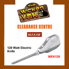 Maxim 120 Watt Electric Knife Stainless Steel Blades MEK120 FREE SHIPPING-NEW!