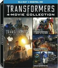 (Used) Transformers 4-Movie Collection Blu-ray Revenge /Dark of Moon /Extinction