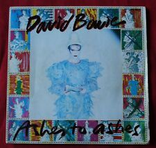 David Bowie, ashes to ashes / move on, SP - 45 tours France