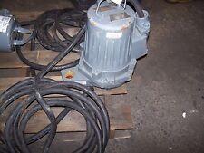 New Gould 11 Hp Sewage Submersible Sump Pump 2ga31k2ad 200 Volt Delta 3495 Rpm