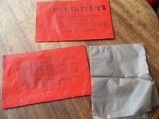 2 x VINTAGE Packs le Joyce Menditte Home invisible réparation matériel Mend IT