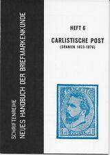 L4255 Germany Deutsch 1962 Heft 6 Die Briefmarken von Carlistische Post Spain
