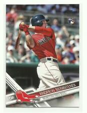 2017 Topps # 283 ANDREW BENINTENDI RC Rookie Factory Set Photo Variation Red Sox
