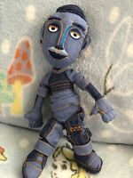 comfort fabric conditioner Doll Darren British Tv Advert Plush Soft Toy Denim