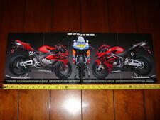 2004 HONDA CBR 10000RR - ORIGINAL AD / POSTER