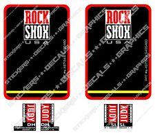 RockShox Judy DH SL Forcella Decalcomanie Adesivi di ricambio VINTAGE con forcella Adesivi